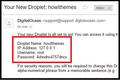 DigitalOcean Email